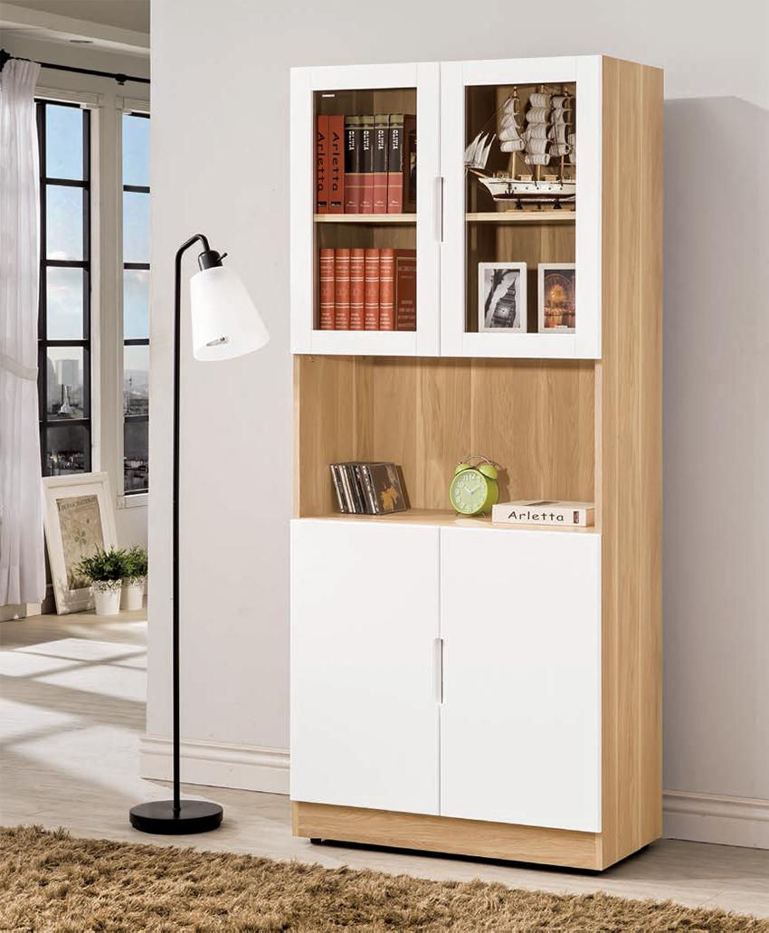 克利奧9.3尺書櫃(可拆賣)