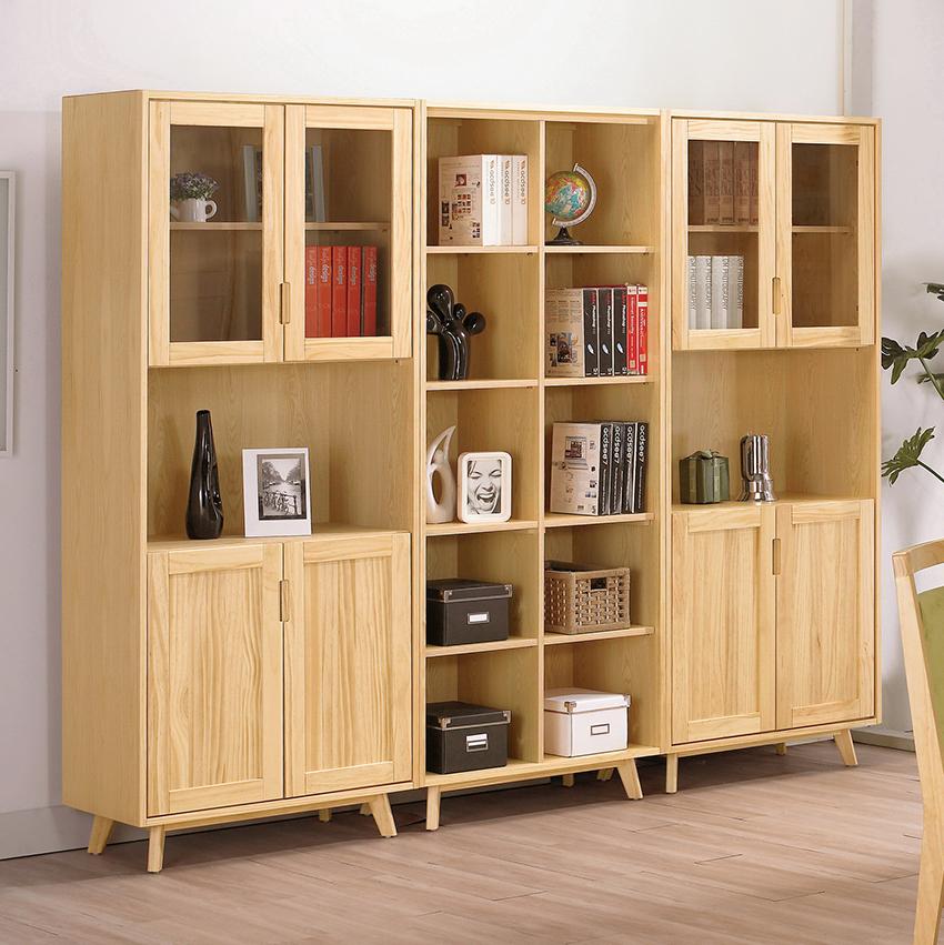 德懷特8尺實木書櫃(可拆賣)